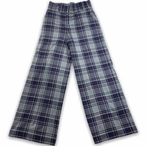New York & Co 7th Avenue High Waist Plaid Wide Leg
